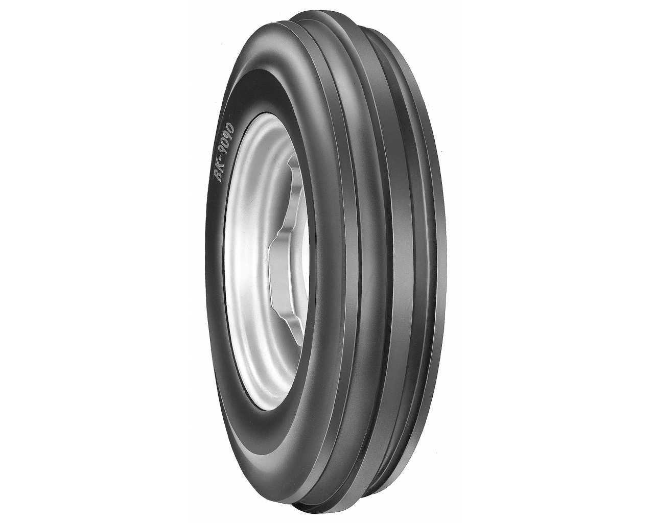6.00-16 BKT TF-9090 TT 6PLY Agricultural 600-16 88A6 Tractor Front Tyres